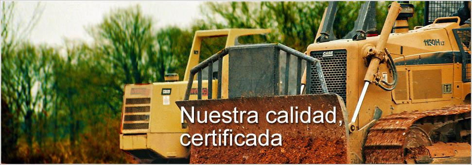 Nuestra calidad certificada